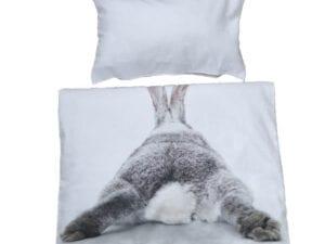 forside kanin numse sengetøj