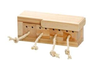 Legetøj til kanin med skuffer til snacks