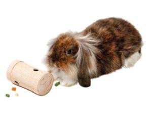 aktiveringsrulle i træ med kanin