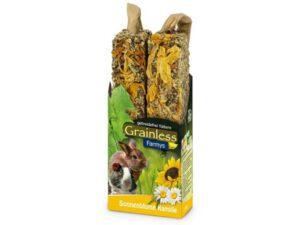 Grainless solsikke kamille - naturlige kanin godbidder med blomster og frø