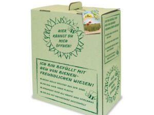 hø i spiselig kasse til kaniner