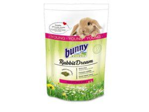 bunny nature kaninfoder junior til unge kaniner - kaninpiller med mange græs arter og urter - sundt foder uden hvede, korn og soja