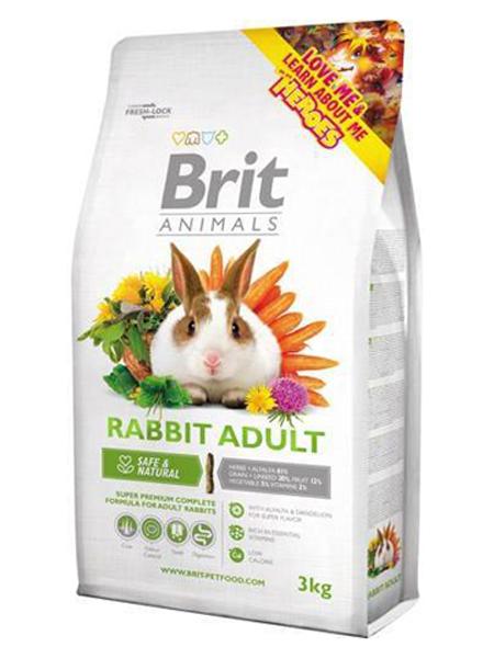 kaninfoder test brit kaninmad