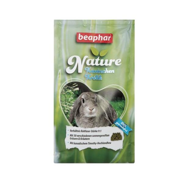 beaphar Nature kanin piller med højt fiberindhold. Dette mad til kanin har det højest indhold af fibre her i kaninbutikken