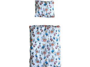 sengetøj til kaninseng med peter kanin